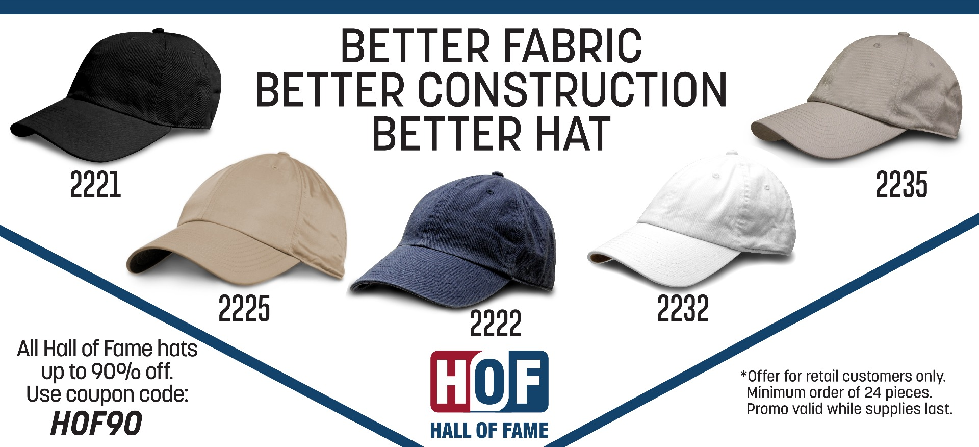 Hall of Fame Hat Sale