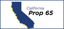 California Proposition 65 Statement